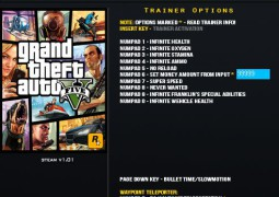 Grand Theft Auto V +14 Trainer – LinGon